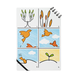 jinnsei-michikusaの木生え鳥 Notes