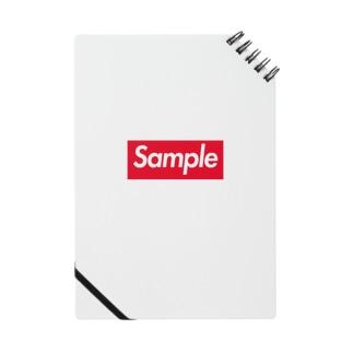 Sample -Red Box Logo- Notes