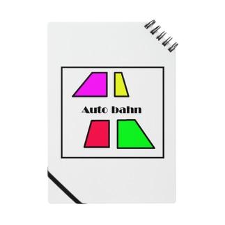 カラフルな台形4つ Auto bahn Notes