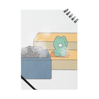 ロウリュするかえる Notebook