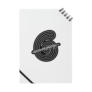6th anniversary logo Notes