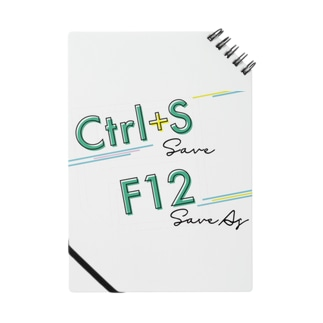 Excelショートカットグッズ〜保存  Notes
