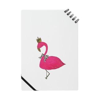flamingo pink 👑王冠 Notes