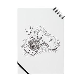 コーギーとレコード ノート