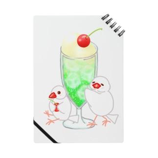 メロンクリームソーダと文鳥ず Notebook