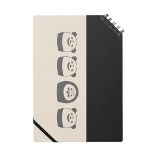 ぱんだるまん(モノトーン) Notes