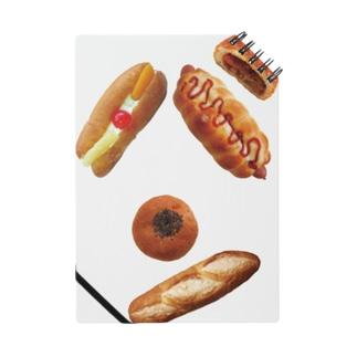 新デザインパンのパン文字 ノート
