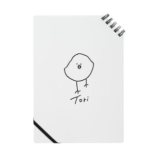 ゆっくりと近づいてくるTori-黒大- Notebook