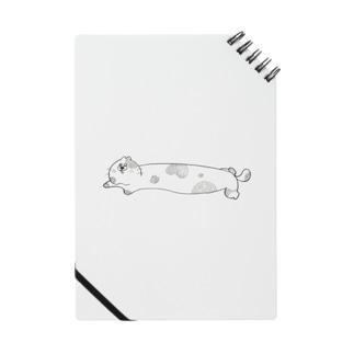 のび〜〜るハナクソちくわネコ ノート