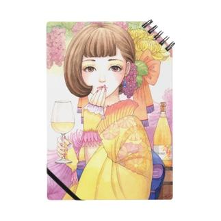 ワイン女子・デラウェアドライヌーボー Notes