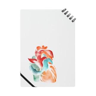 ココハレ心臓と鯉 Notebook