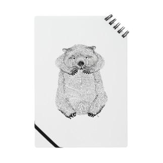wombat(ペン画) Notebook