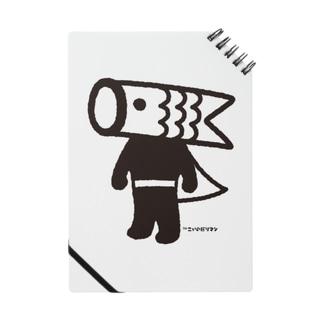 こいのぼりマン ノート