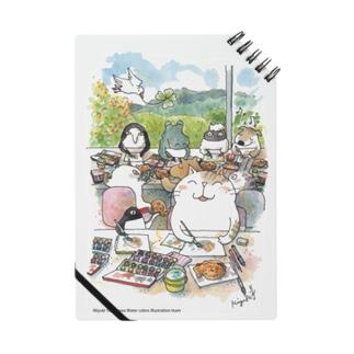 水彩イラストDiary Notes