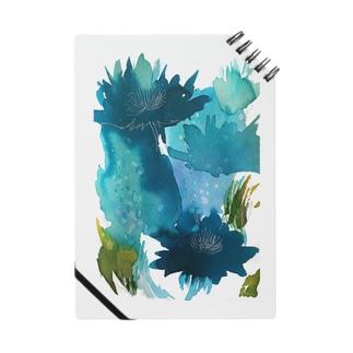 青い花_b ノート
