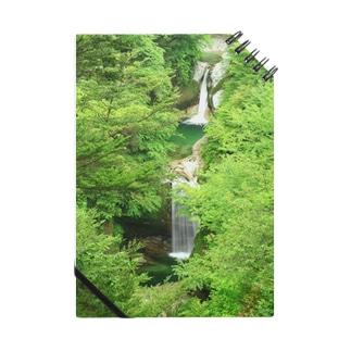 深緑の滝 Notes