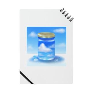空瓶-sorabin- 「夏」 Notebook