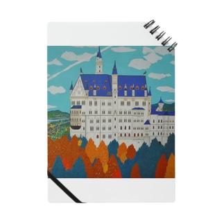 紅葉のノイシュバンシュタイン城 Notes
