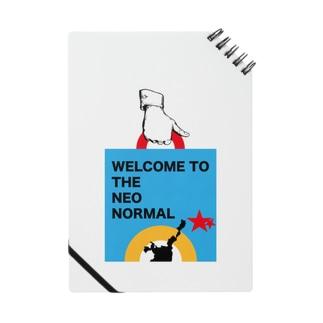 AMURITANONIWA-OFF LINE ART SHOPのISHIGAKI NEO NORMAL Notebook
