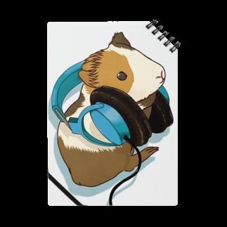Lichtmuhleのモルモットヘッドフォン ブルー Notes