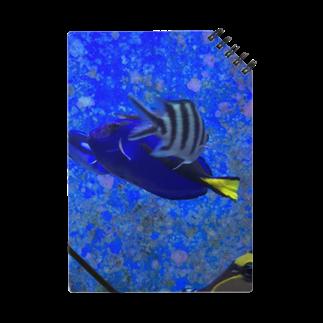 Luckyemeの交差する魚ノート