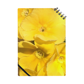 Luckyemeの眩しいくらいの黄色ノート