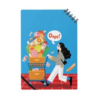shopping(背景ポスターなし) Notebook