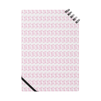 パターン(ピンク) Notes