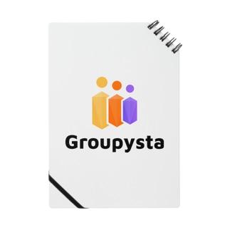 Groupysta公式グッズ Notebook
