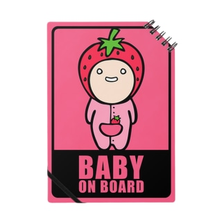 BABY on Board (いちごノート) Notes