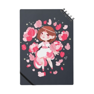 PINK花 ノート