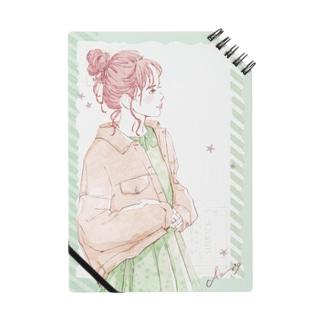 Fashion_星ワンピース Notebook