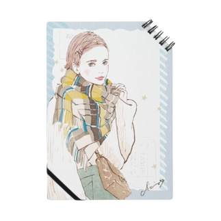 Fashion-チェックストール Notebook