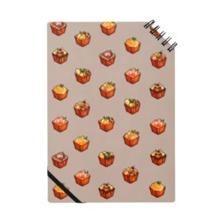 Honey toast set Notebook