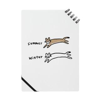 夏と冬のオコジョさん Notebook