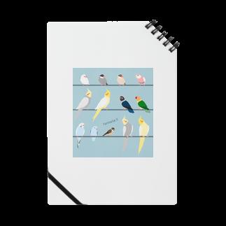 ビガクブのトリノートノート