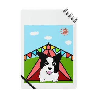 テントの中からどんちゃん Notebook