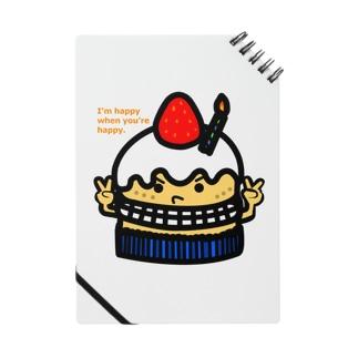 プレゼントケーキ ノート