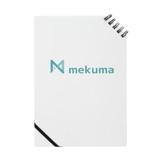 mekuma オリジナルグッズ Notes