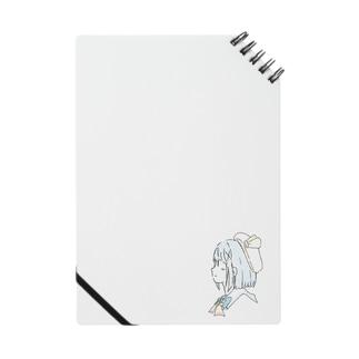水城琴音 ゆるゆる横顔(通常ver.) Notebook