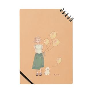 魔法ノート🎈黄色い風船 ノート