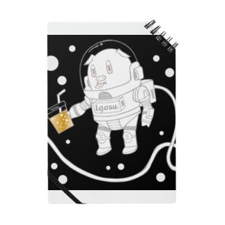 I.gasu🄬アイガスワールドのI.gasu space pig3 【アイガス】 Notes