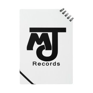 MJRecordsロゴグッズ Notes