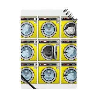 コインランドリー Coin laundry【3×3】 ノート