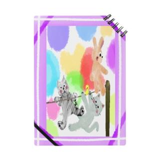 Premium/ゆめかわアニマル:紫【犬猫鳥兎】 Notes