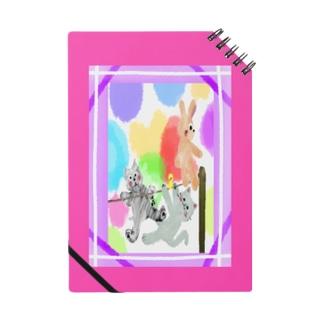 Premium/ゆめかわアニマル:ピンク【犬猫鳥兎】 Notes