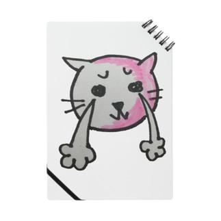 ネコのチャーリー    泣く ノート