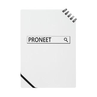 PRONEETで検索  ノート