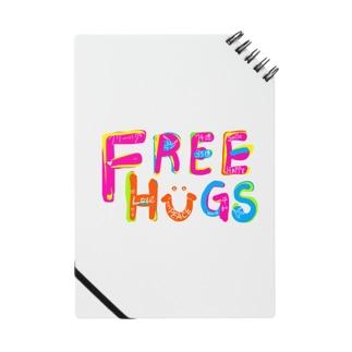 フリーハグ/FREE HUGS ノート