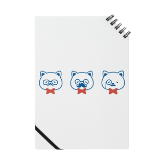 チョッちゃんのネコとヒゲとメガネ ノート